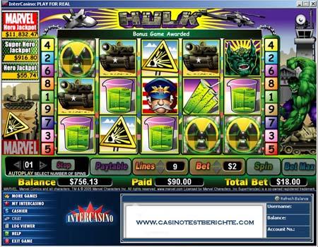 Casino con slot marvel